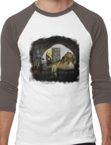 Kermit the Hutt Men's Baseball ¾ T-Shirt