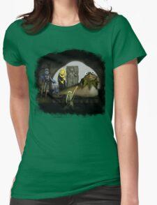 Kermit the Hutt Womens Fitted T-Shirt