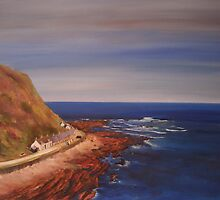 Burnmouth - Scotland by Beatrice Cloake