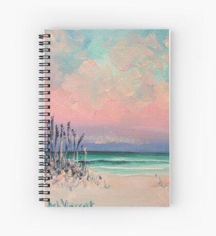 Pink ocean Spiral Notebook