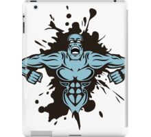Muscle monster man iPad Case/Skin