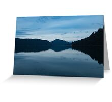 Evening on the Water Greeting Card