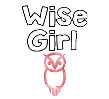 wise girl Photographic Print