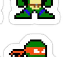 8-bit TMNT Classic Sticker