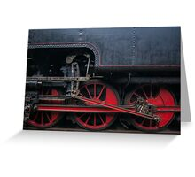 The Locomotive Greeting Card