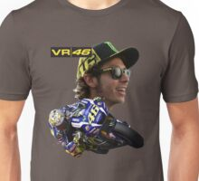 Valentino Rossi (The Doctor) Yamaha Factory Racing Unisex T-Shirt