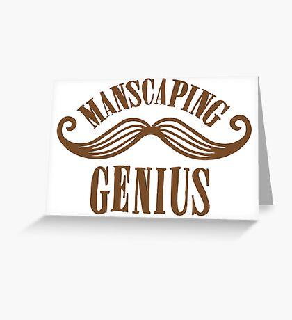 manscaping genius Greeting Card