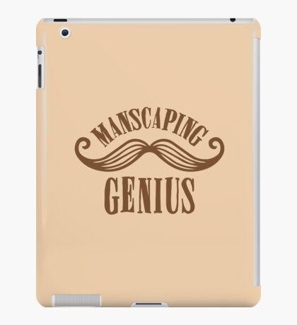 manscaping genius iPad Case/Skin