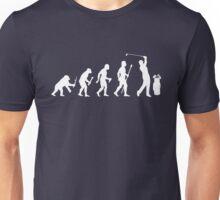 Funny Evolution Of Golf Unisex T-Shirt