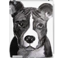 Good Dog Pit Bull iPad Case/Skin