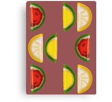 Fruit and More Fruit  Canvas Print