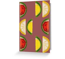Fruit and More Fruit  Greeting Card