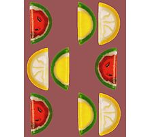 Fruit and More Fruit  Photographic Print