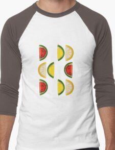 Fruit and More Fruit  Men's Baseball ¾ T-Shirt