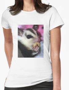 Sugar Glider Womens Fitted T-Shirt