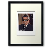 Richard Nixon Framed Print