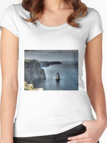 Cliffs of Moher Women's Fitted Scoop T-Shirt