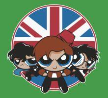 Powerpuff Brits Baby Tee