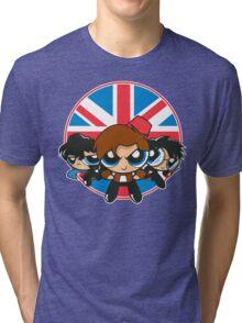 Powerpuff Brits Tri-blend T-Shirt