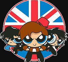 Powerpuff Brits by foureyedesign