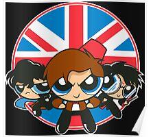 Powerpuff Brits Poster