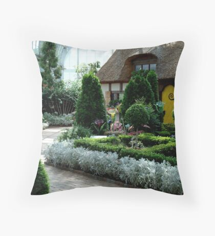 Thatched Cottage ^ Throw Pillow