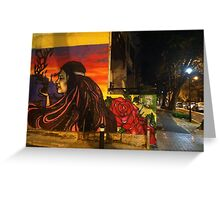 Surry Hills graffiti, Australia Greeting Card