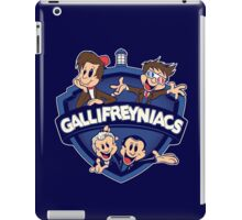 Gallifreyniacs iPad Case/Skin