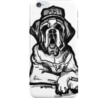 Saint Bernard Swag iPhone Case/Skin