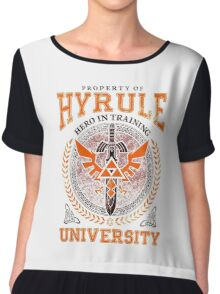 Hyrule University Chiffon Top