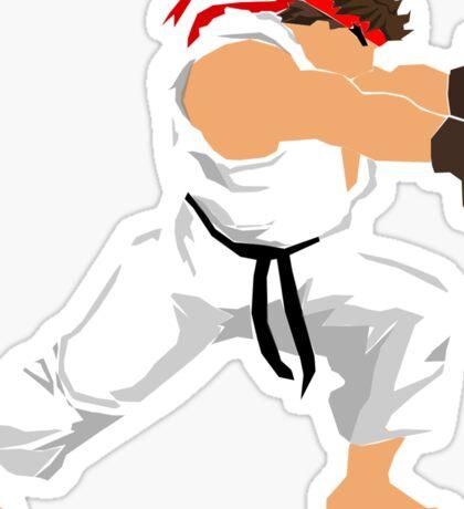 Ryu Minimalist  Sticker