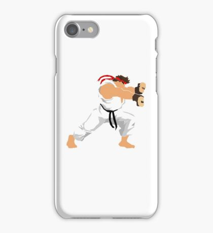 Ryu Minimalist  iPhone Case/Skin