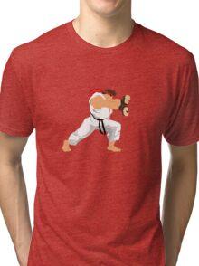 Ryu Minimalist  Tri-blend T-Shirt