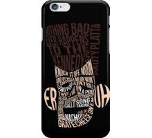 Catchphrase Comp-er-uh-lation iPhone Case/Skin
