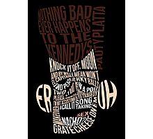 Catchphrase Comp-er-uh-lation Photographic Print