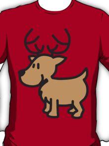 Cute Christmas Reindeer T-Shirt