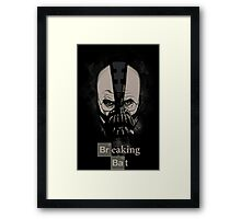 Breaking Bat Framed Print