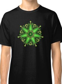 Elven Star, Symbol Perfection & Protection, Heptagram, Magic Classic T-Shirt