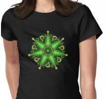 Elven Star, Symbol Perfection & Protection, Heptagram, Magic Womens Fitted T-Shirt