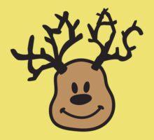 XMAS Reindeer One Piece - Short Sleeve