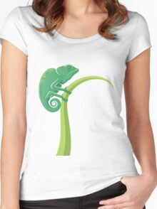 Chameleon Style Women's Fitted Scoop T-Shirt