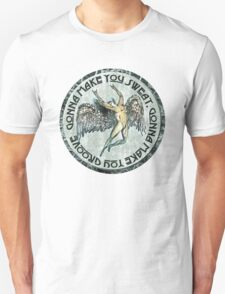 ICARUS THROWS THE HORNS - sweat and groove NEW DESIGN Unisex T-Shirt