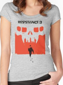 Resistance 3 Capelli Walks Women's Fitted Scoop T-Shirt