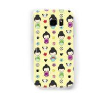 Cute Japanese Geisha Cartoons Samsung Galaxy Case/Skin
