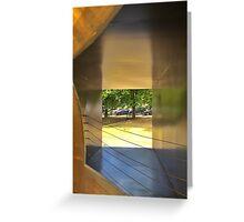 Detail, Serpentine Pavilion 2014 Greeting Card