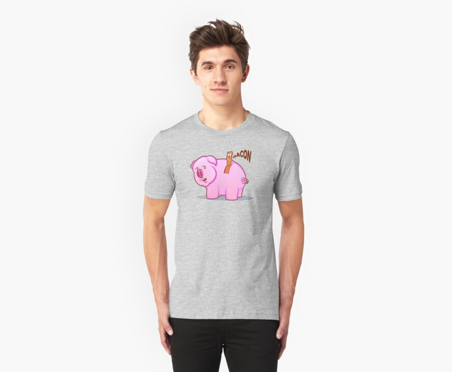 Bacon Pig by graphicgeoff