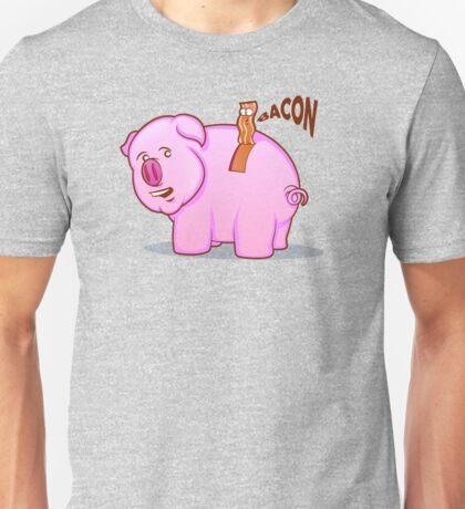 Bacon Pig Unisex T-Shirt