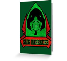 Oddworld Slig Barracks Logo Greeting Card