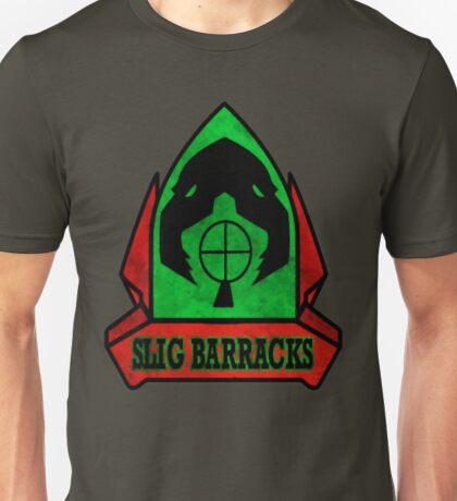Oddworld - Slig Barracks Logo Unisex T-Shirt