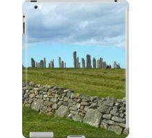 The Callanish Stones, Outer Hebrides, Scotland iPad Case/Skin